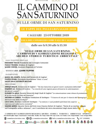 Le tappe del Cammino di San Saturnino 2019 - Eventi Cagliari